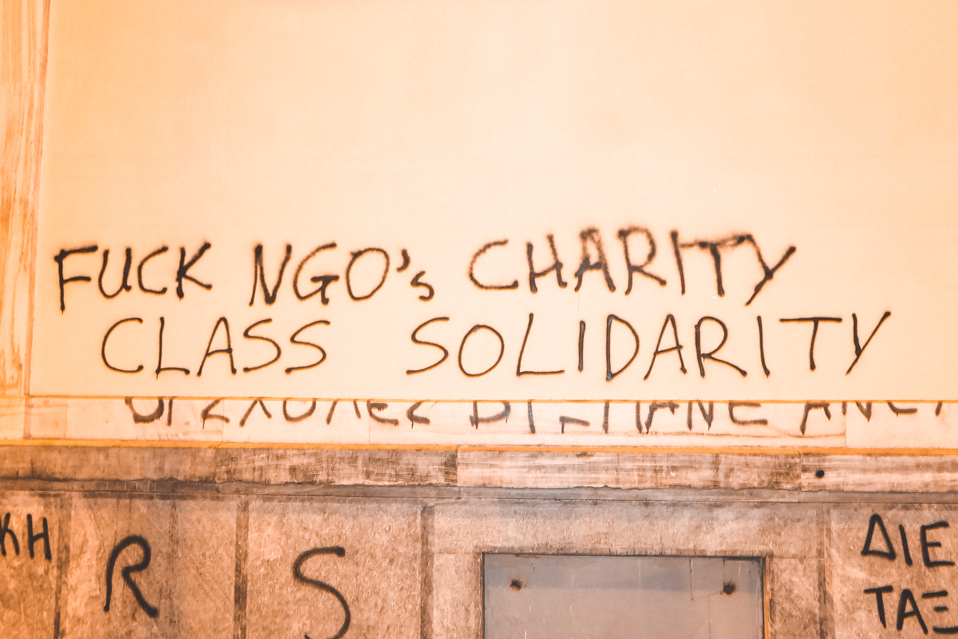 Athens Graffiti Politics