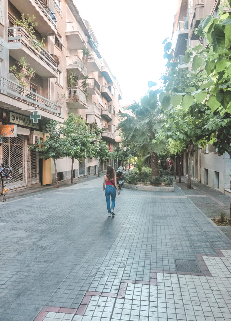 Athens Kypseli Streets