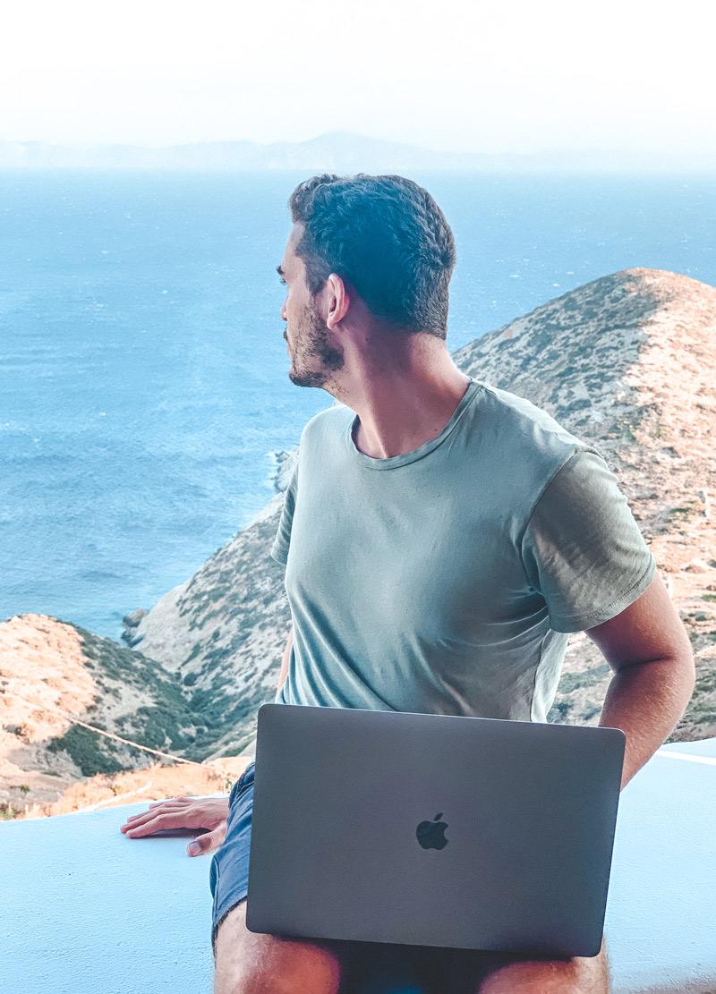 Digital Nomads On Greek islands