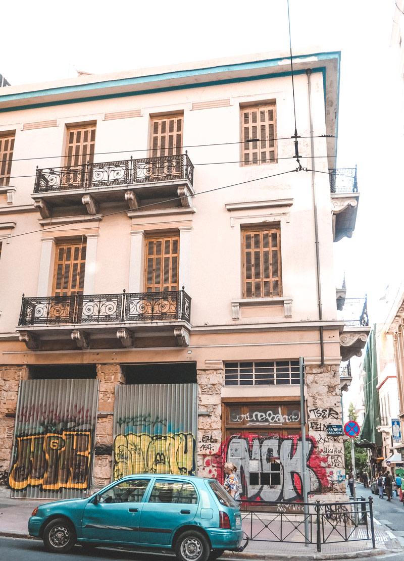 Exarcheia Graffiti Athens