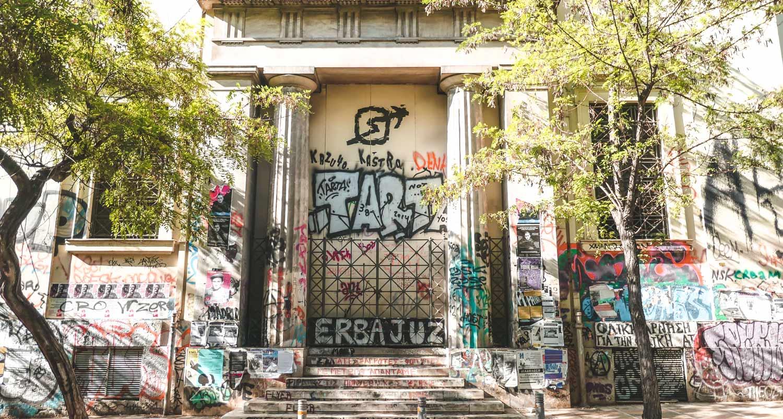 Exarchia Athens Safe Neighborhood
