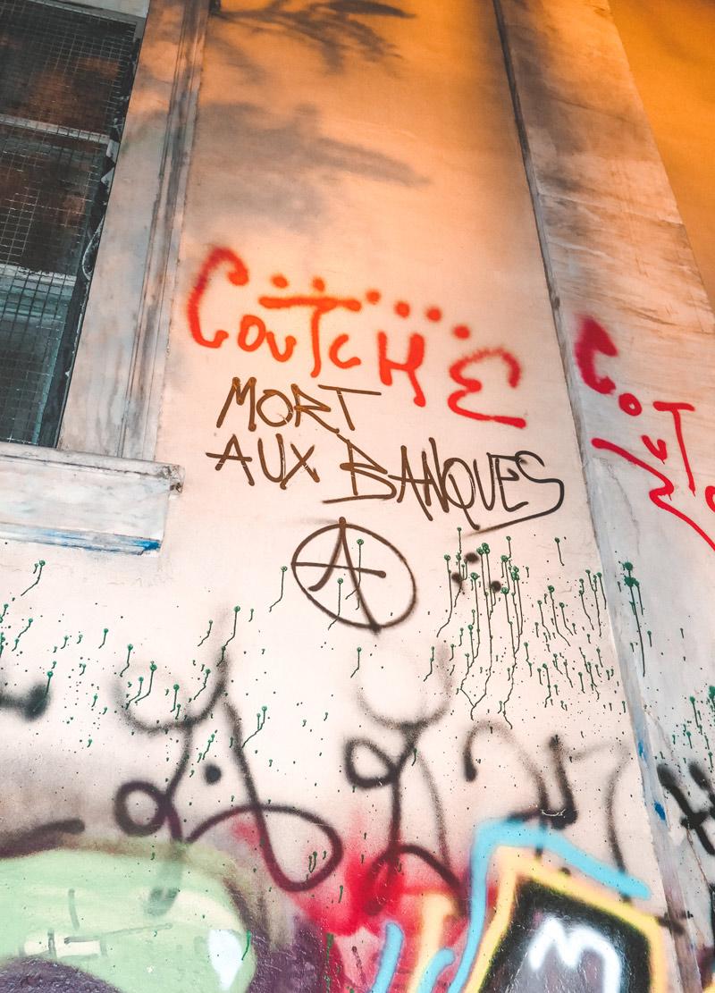 Graffiti Athens Exarchia