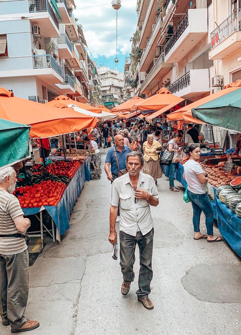 Local Market Greece Athens