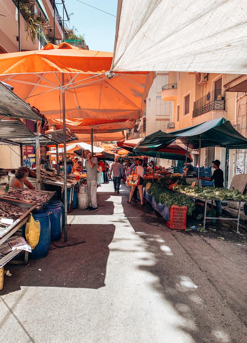 Local Market Kypseli Athens