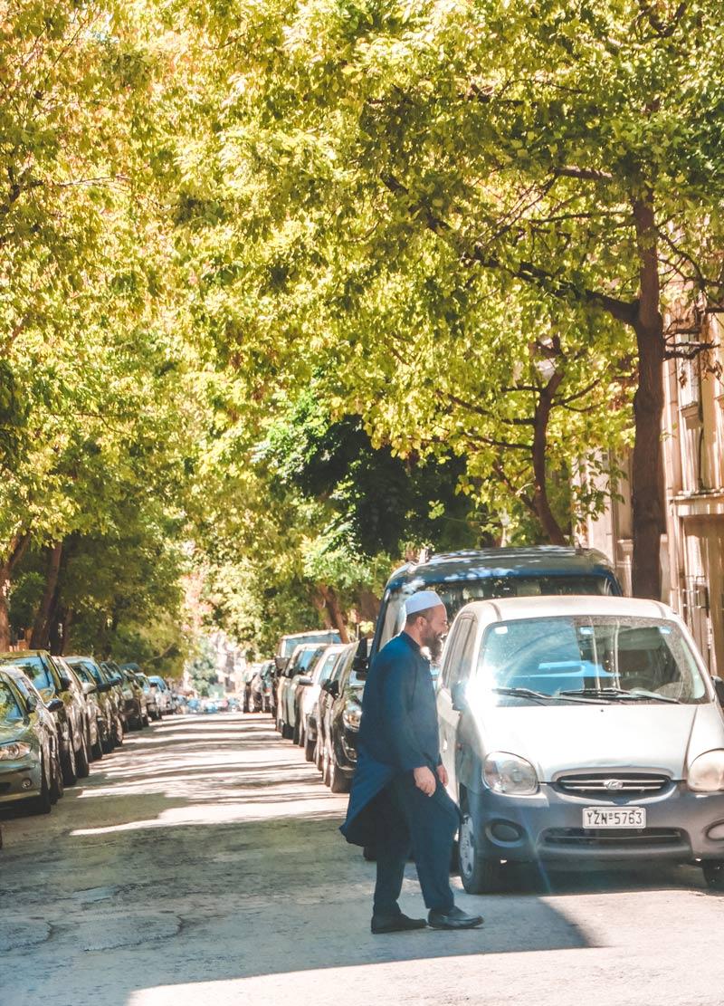 Multicultural Neighborhood Kypseli Athens