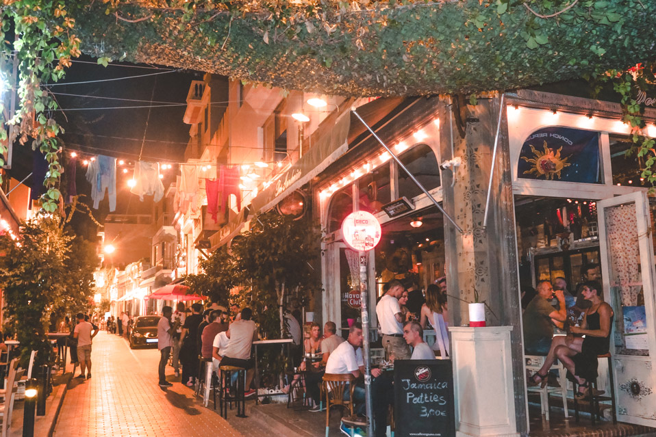 Nightlife in Athens Greece