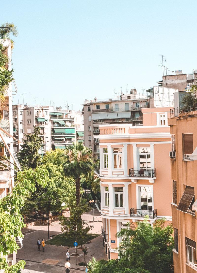Platia Amerikis Athens