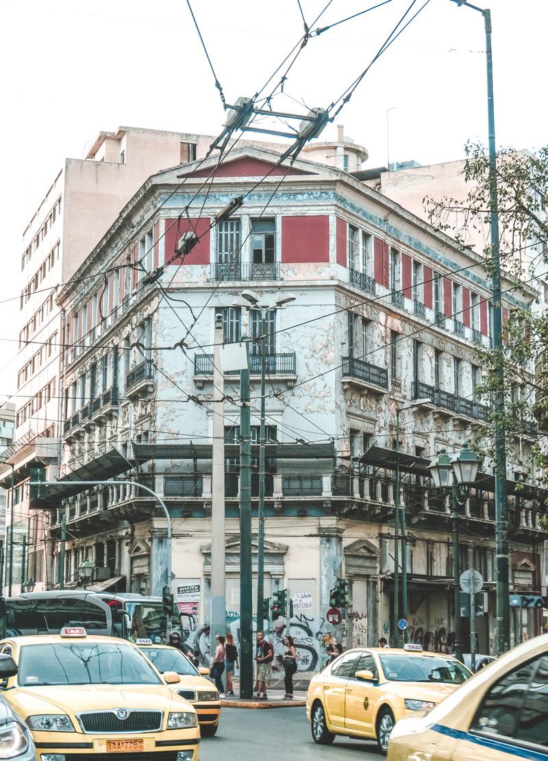 Taxi Athens Omonia Square