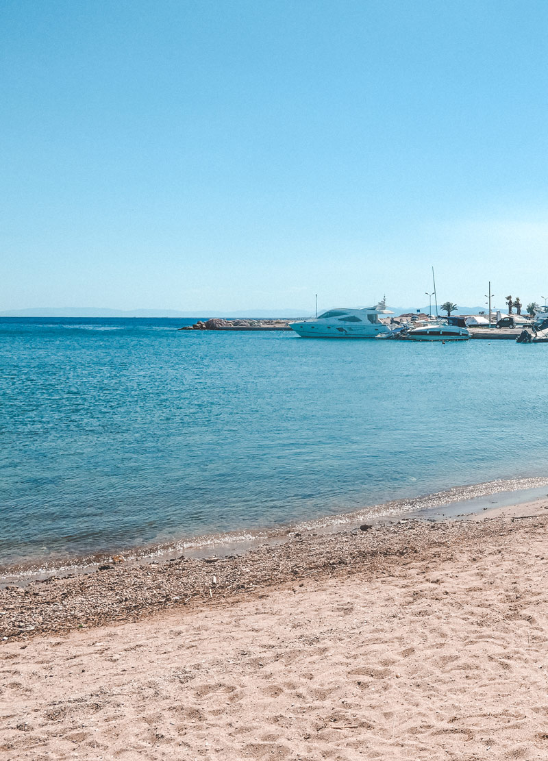 Athens Glyfada Beach Greece