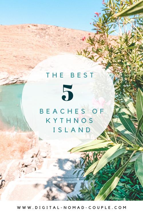 Best beaches Kythnos
