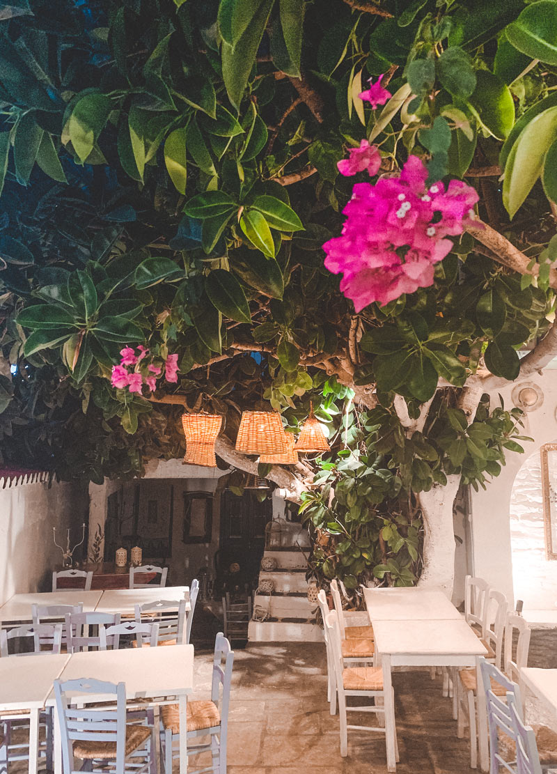 Chora Restaurants Kythnos