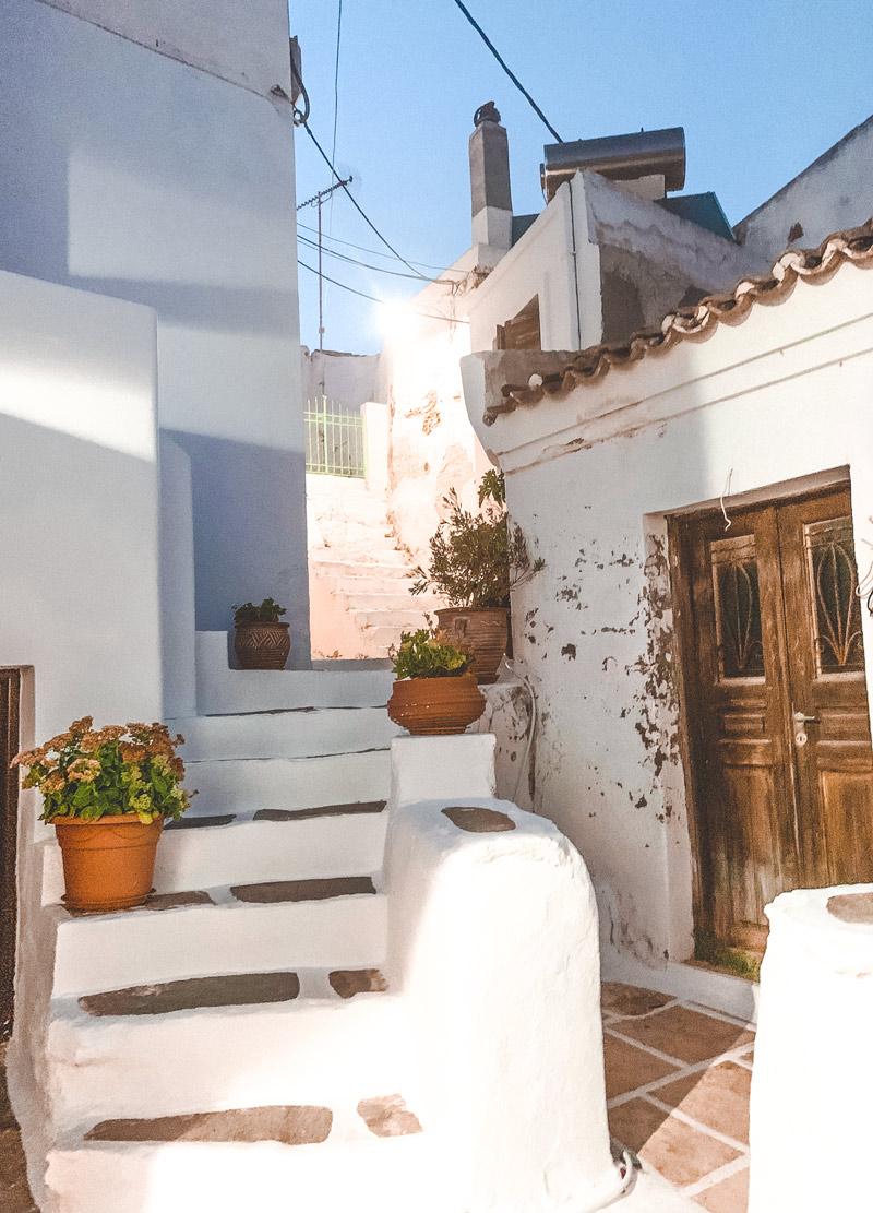 Dryopida Village Kythnos Island