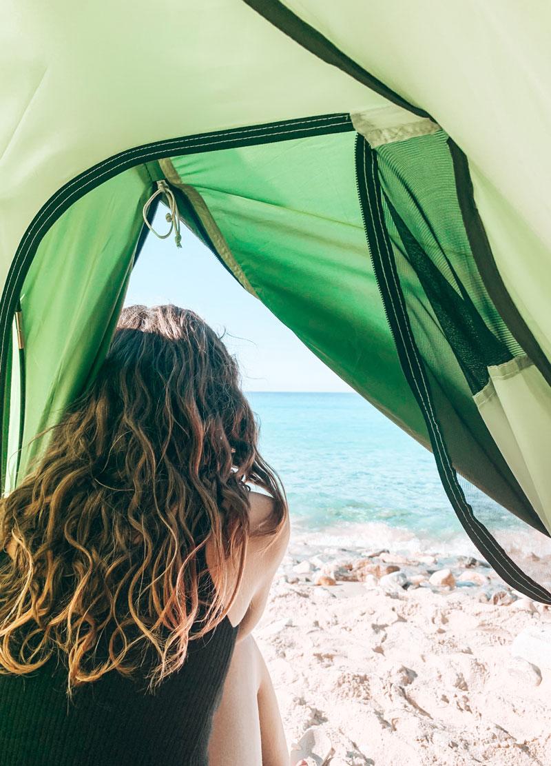 Free Camping Donoussa Greece