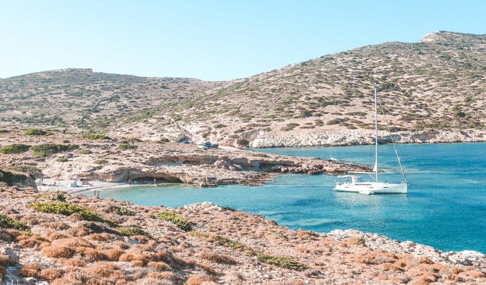 Kalotaritissa Beach In Donoussa Island