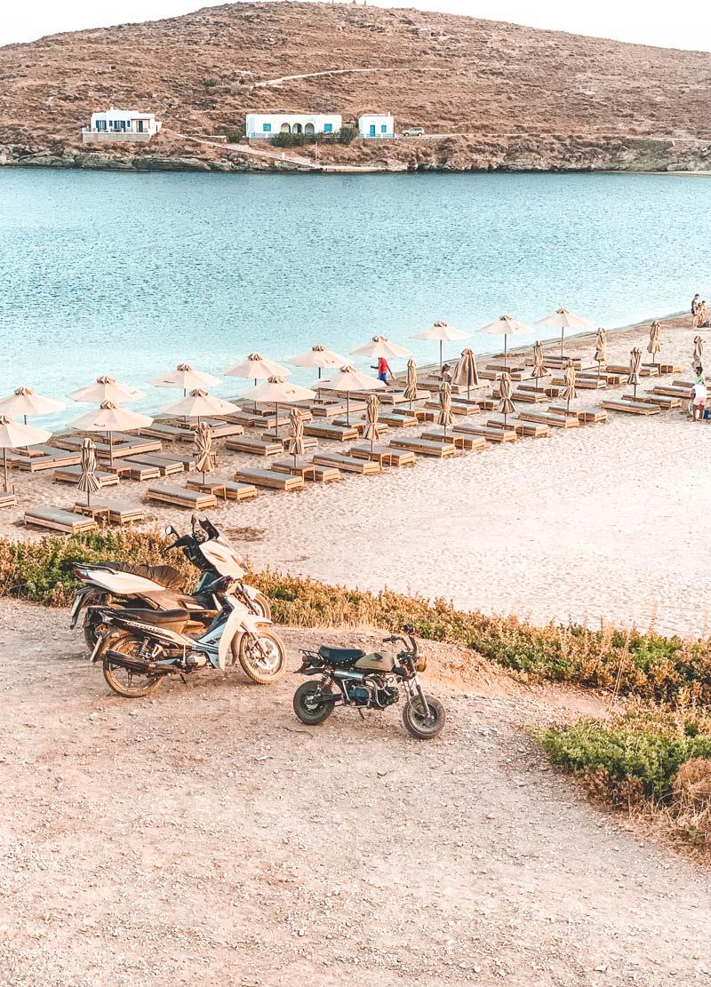 Kolona Beach Kythnos Island