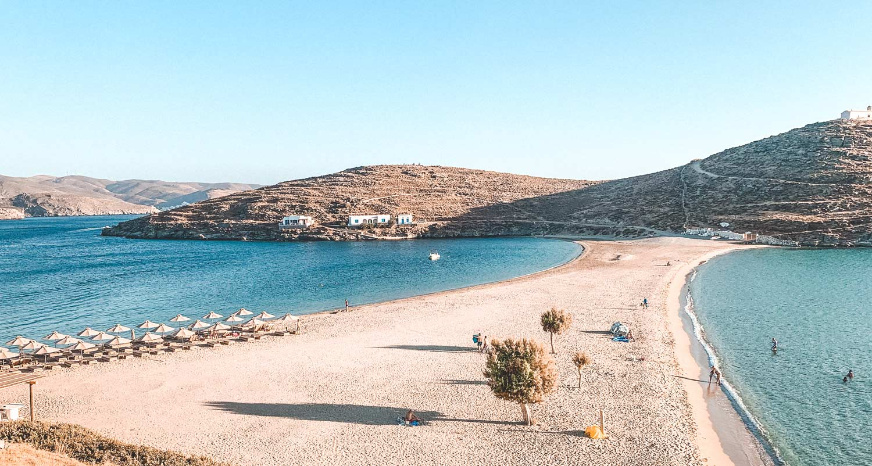 Kolona Beach Kythnos