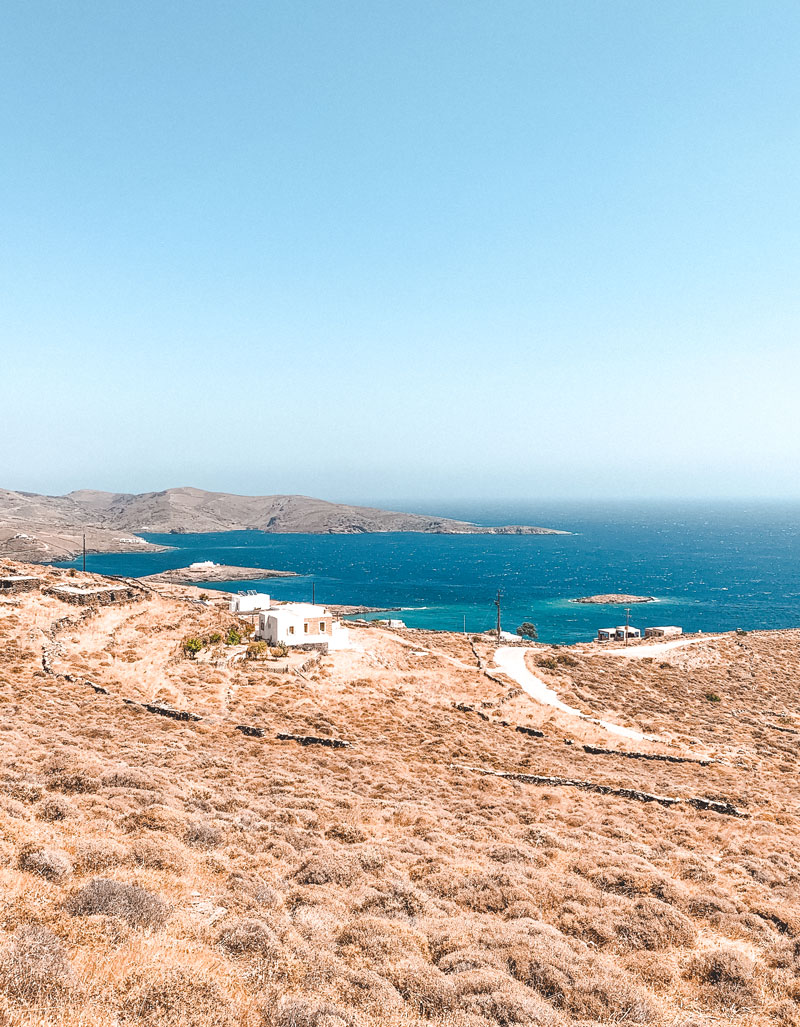 Kolona Beach and the best beaches of Kythnos