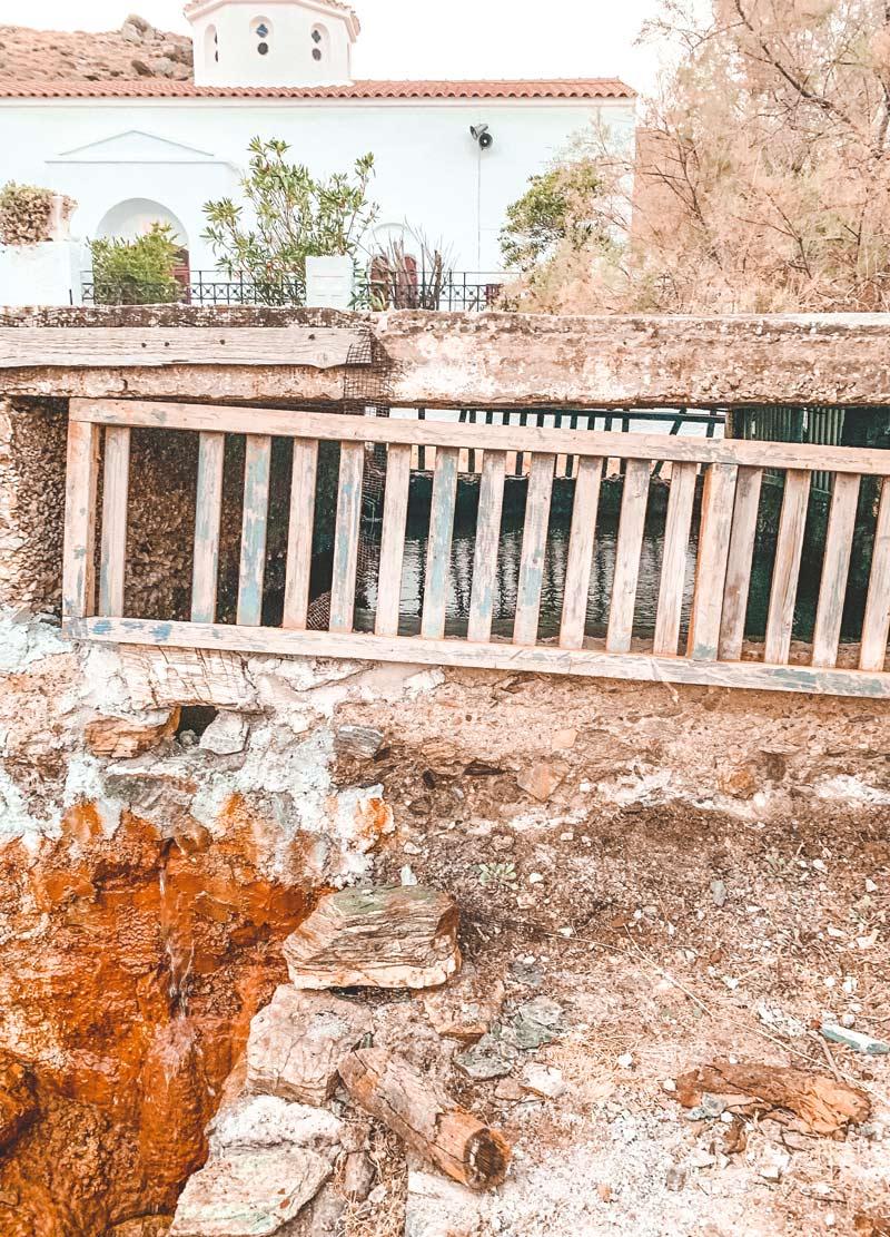 Kythnos Hot Springs Loutra