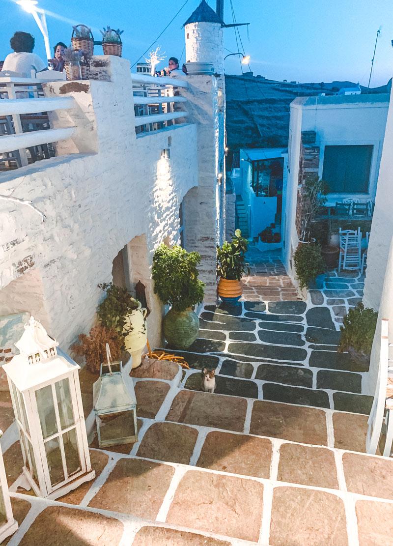 Kythnos Island Hora Village