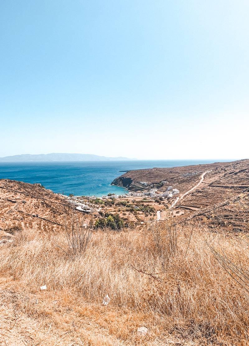 Lefkes Village Kythnos Island