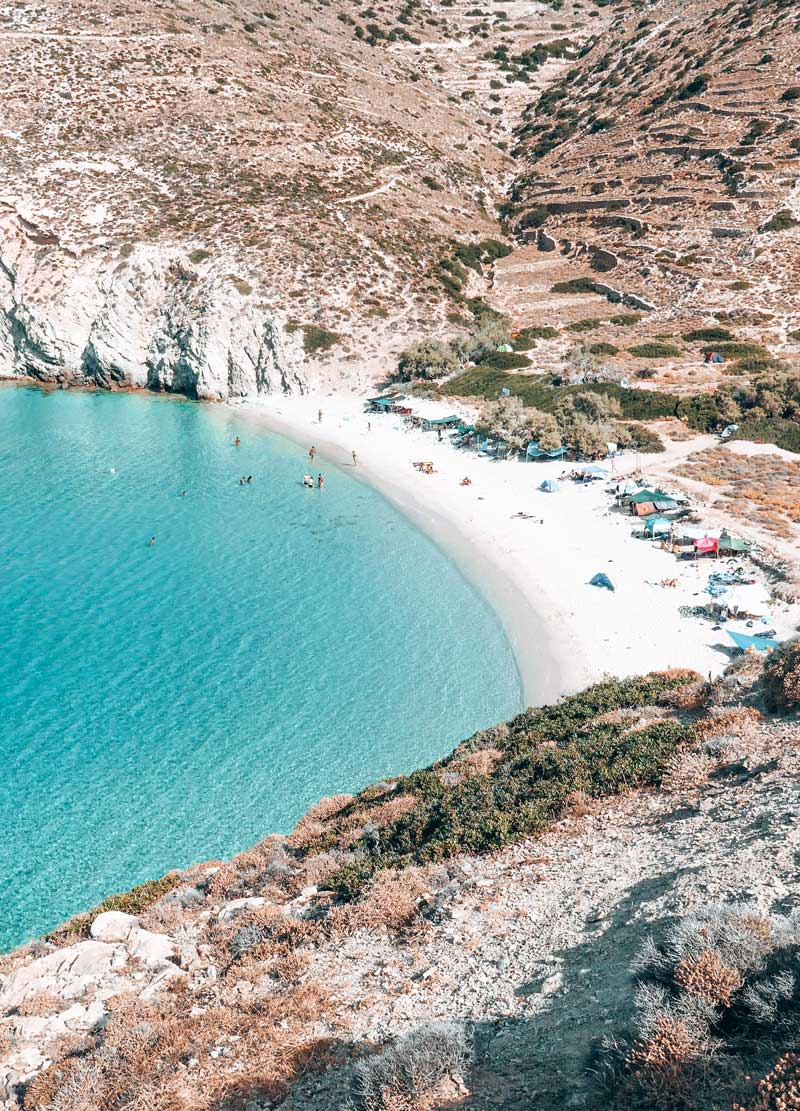 Livadi Beach In Donoussa Isaland Greece
