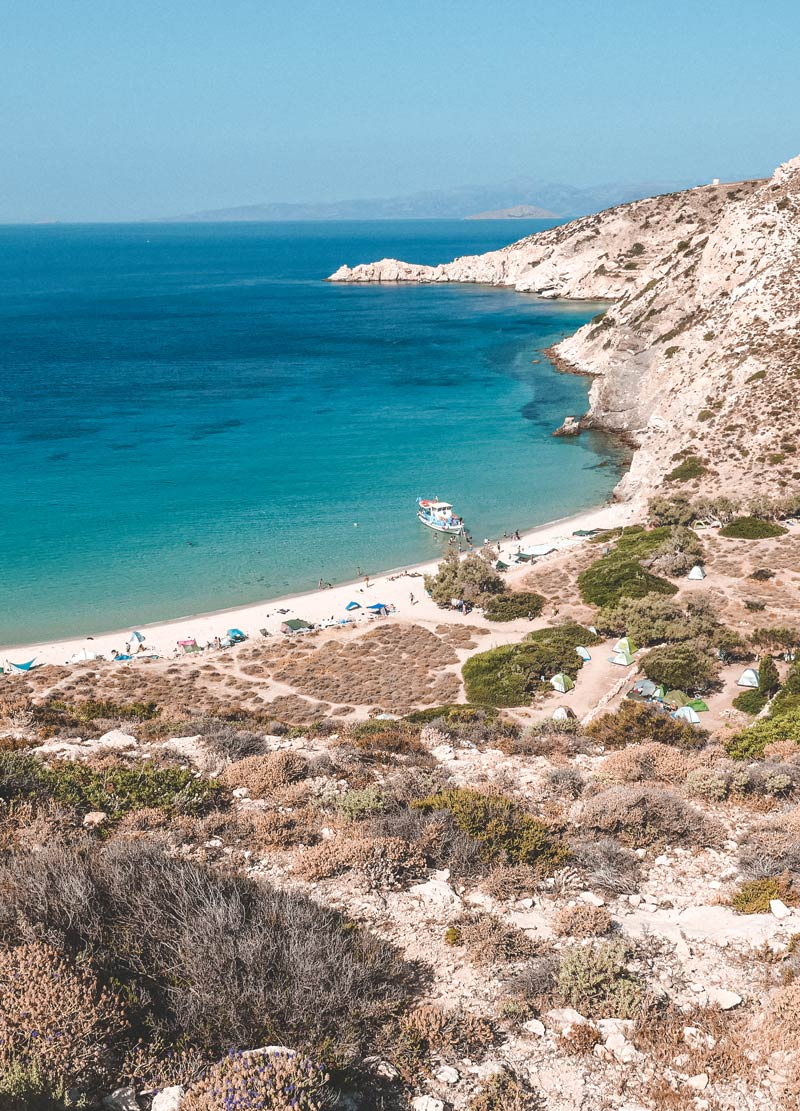 Livadi Beach In Donoussa Island