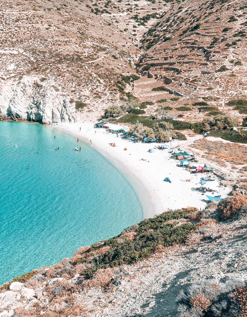 Livadi Free Camping Greece Donoussa