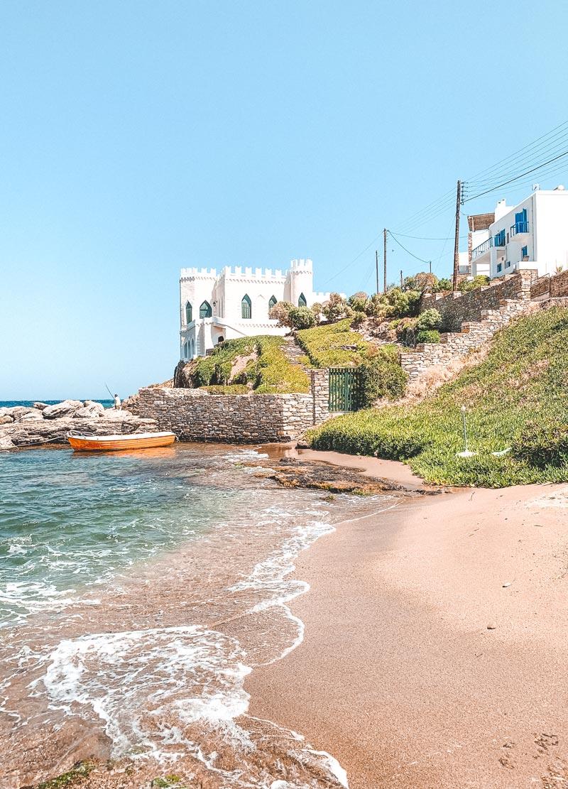 Loutra Beach Kythnos