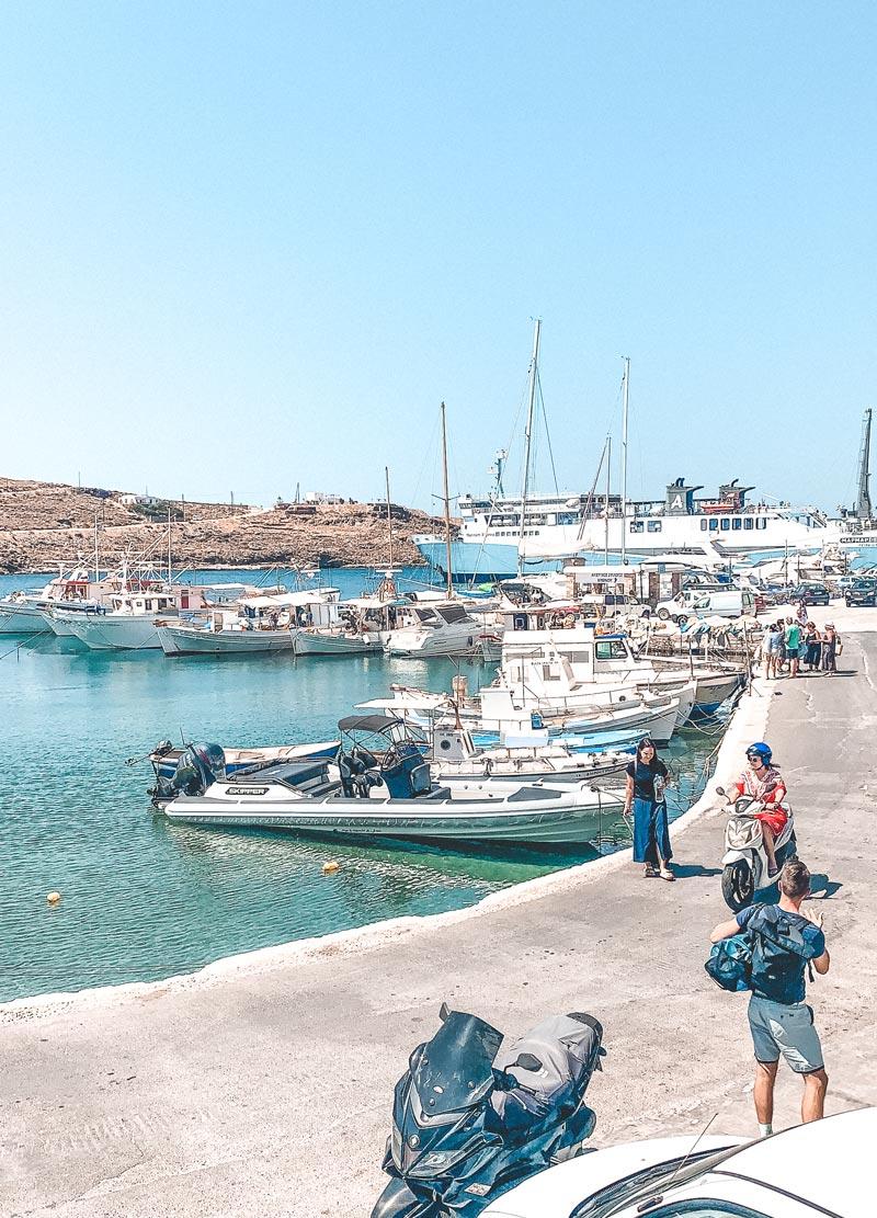 Merihas Kythnos Island Marina