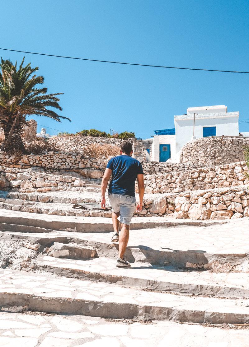 Mersini Village In Donoussa Island