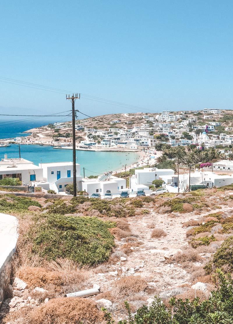 Stavros Beach Donoussa Port
