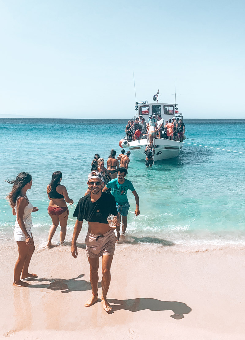 Transports in Donoussa Island Boat