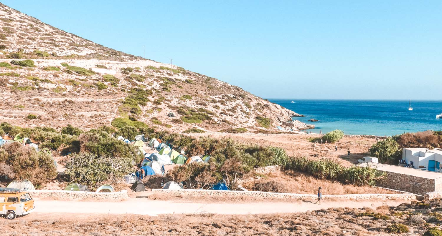 Wild Camping In Donoussa