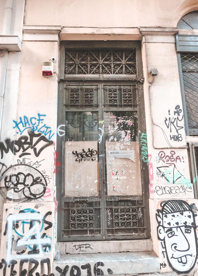 Athens Exarchia Crisis 2008