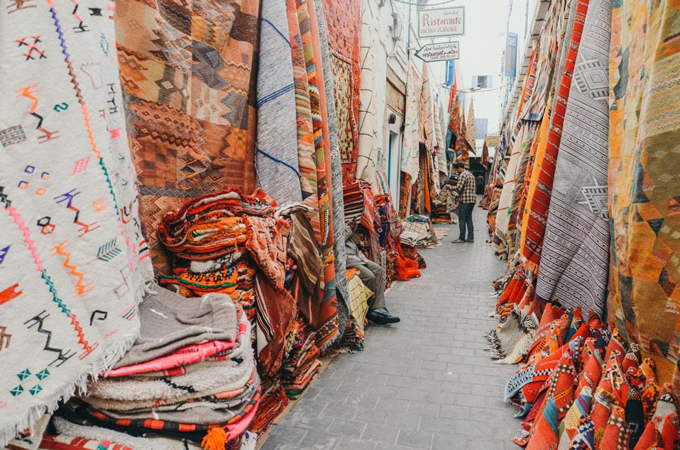Moroccan Carpets Souk