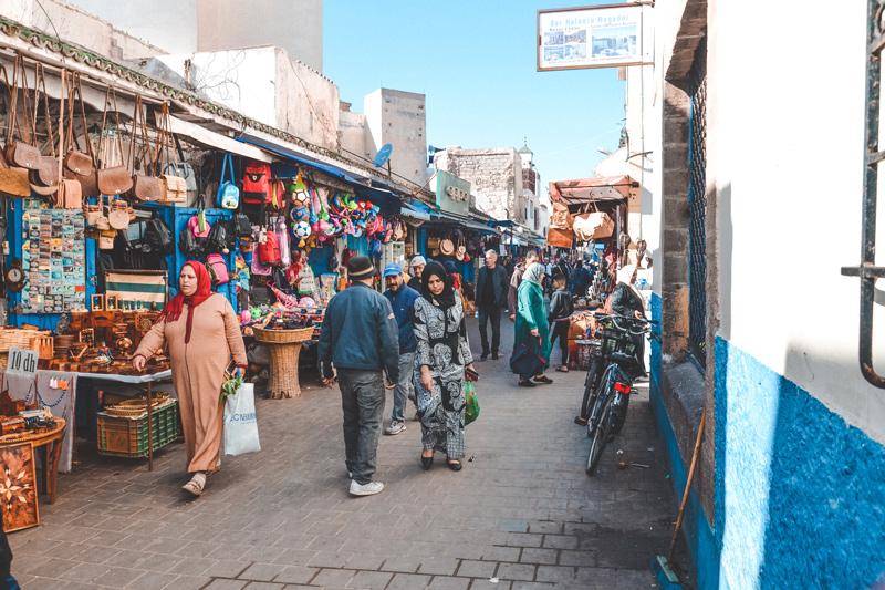 Moroccan Souk Essaouira