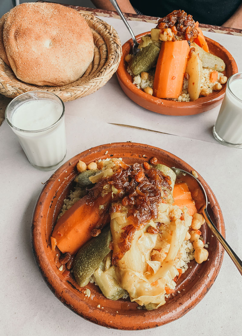 Moroccan Typical Couscous