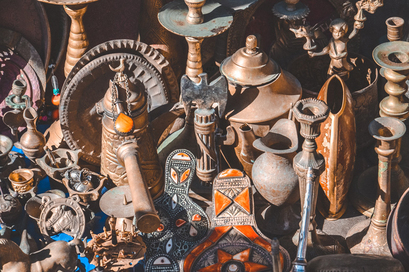 Old Moroccan Souvenirs