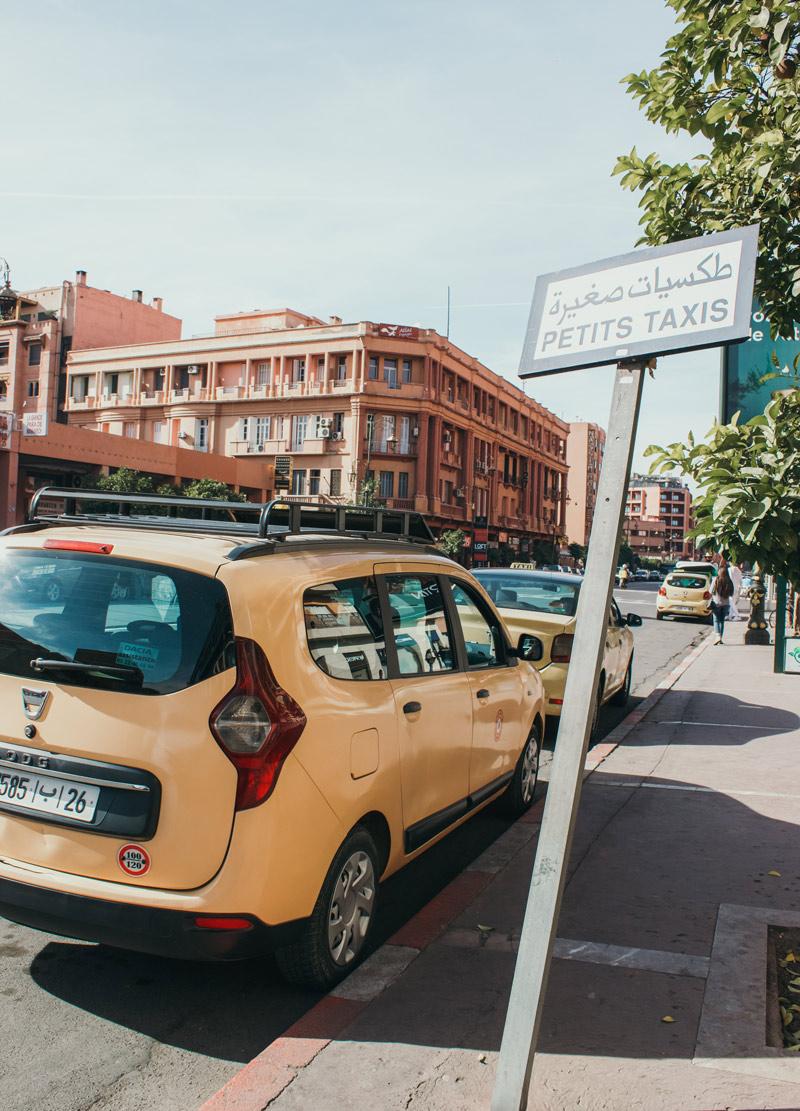 Taxi In Marrakech