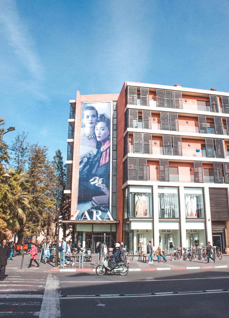 Gueliz Zara Marrakech