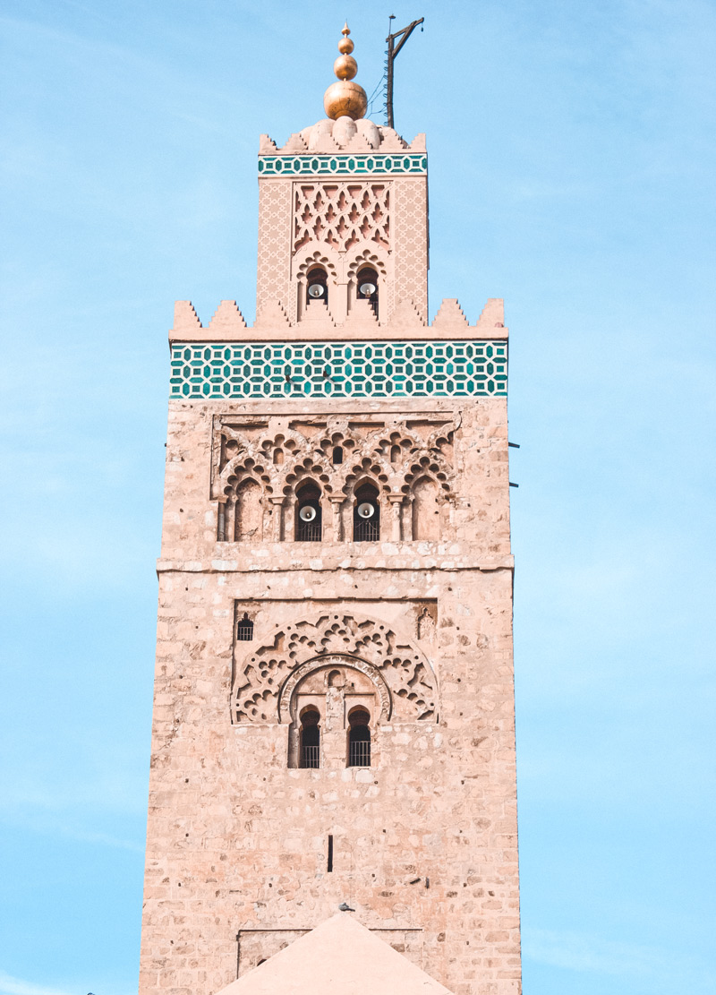 Koutubia Mosque Marrakech