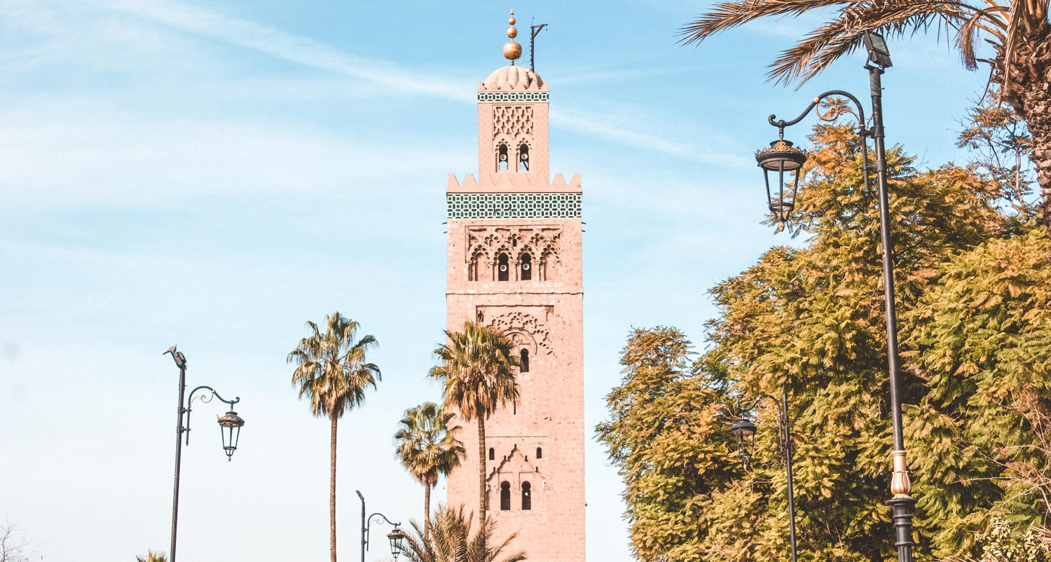 Moroccan Mosque Marrakech
