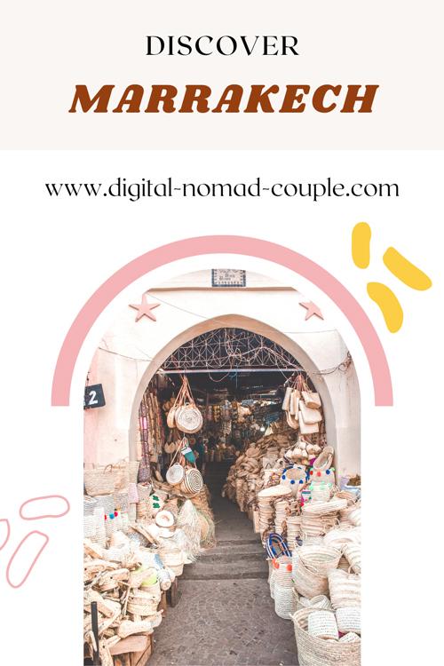 Morocco Discover Marrakech Pinterest