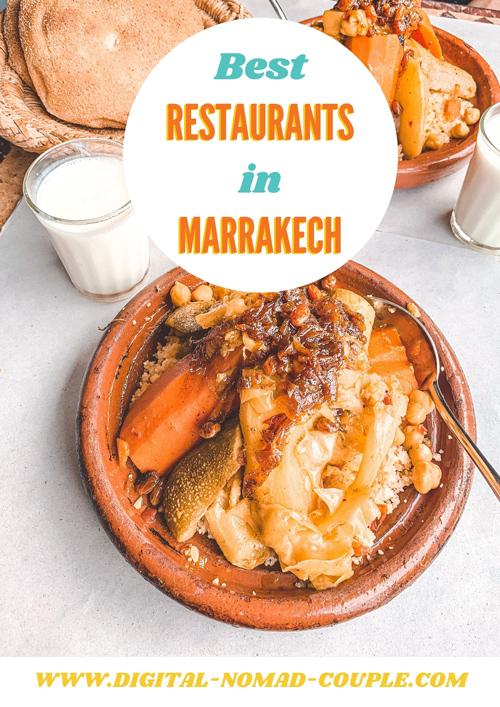 Best veg restaurant in Marrakech