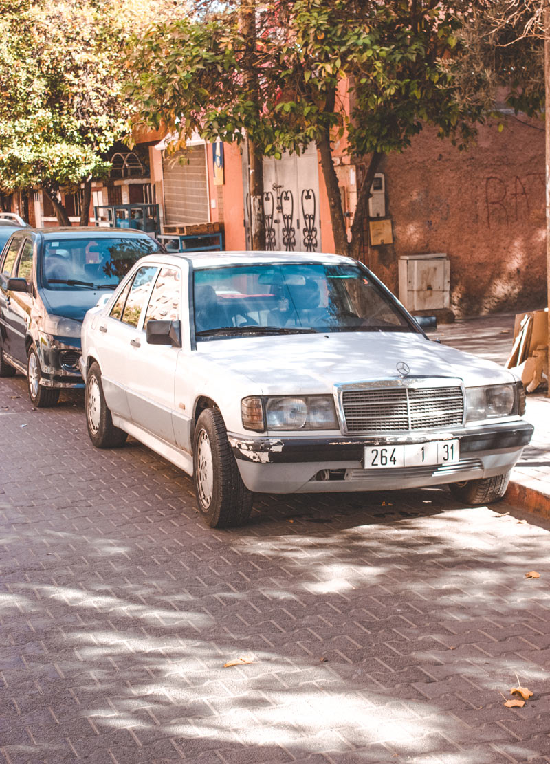 Getting around Marrakech