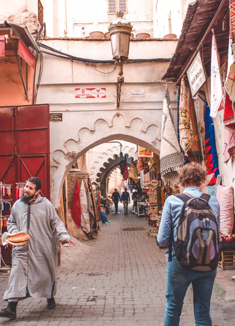 Is morocco safe medina