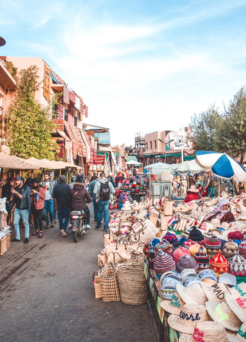 Marrakech solo female traveller