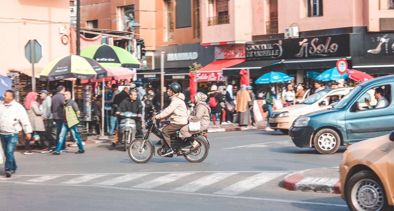 Medina Marrakech Scooter