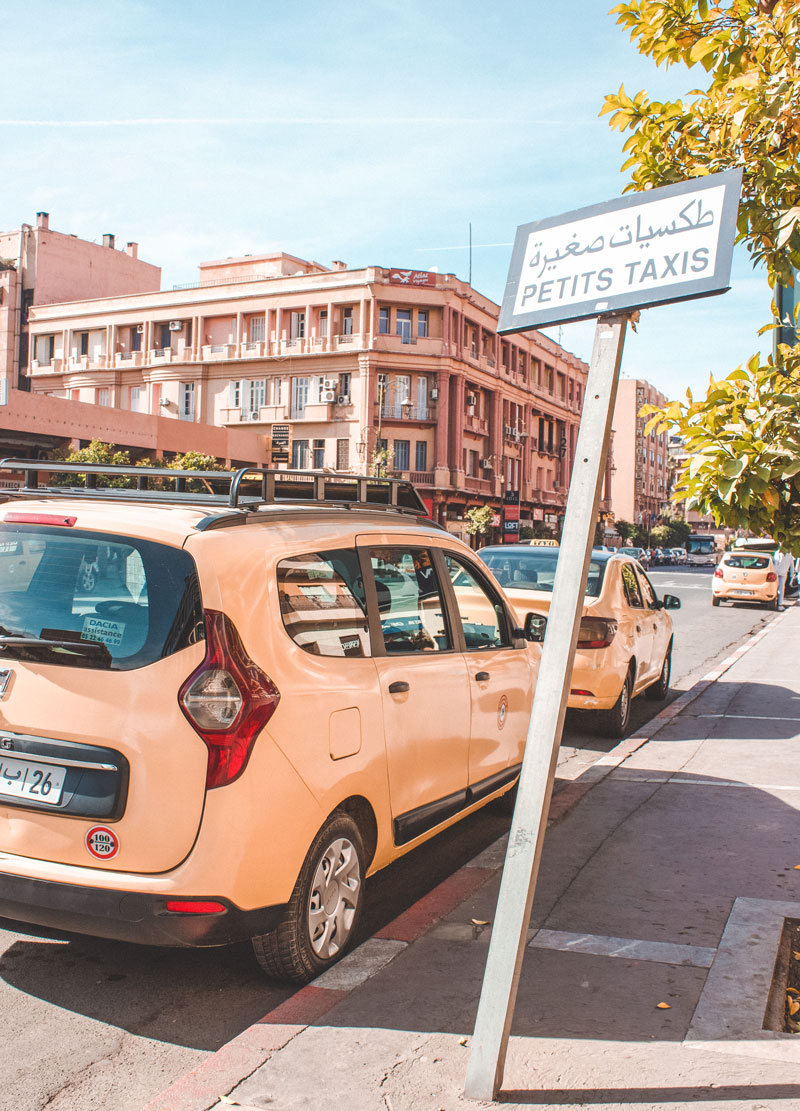 Taxis in Marrakech scam
