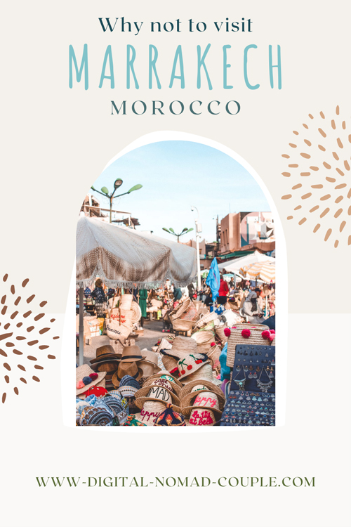 Why not to visit morocco marrakech